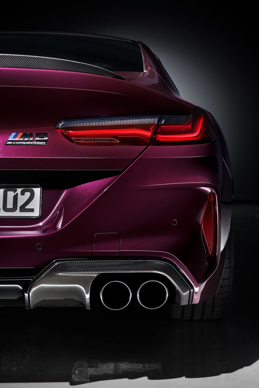 F93 BMW M8 Gran Coupé: four-door coupé with 625 hp Image #1027863