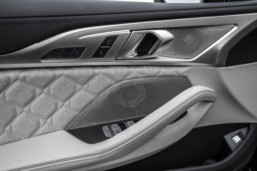 F93 BMW M8 Gran Coupé: four-door coupé with 625 hp Image #1028024