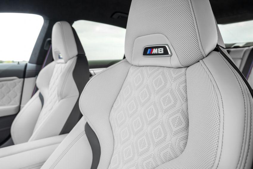 F93 BMW M8 Gran Coupé: four-door coupé with 625 hp Image #1028029