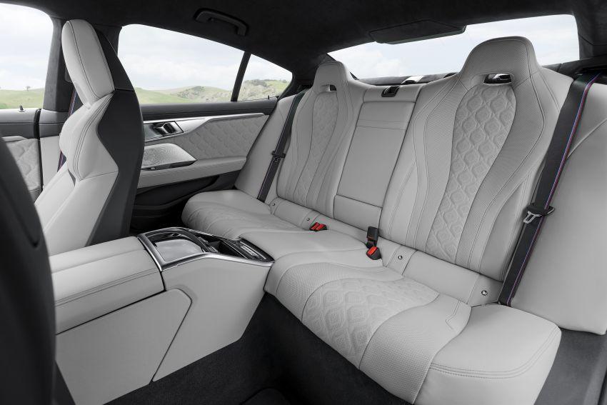 F93 BMW M8 Gran Coupé: four-door coupé with 625 hp Image #1028032