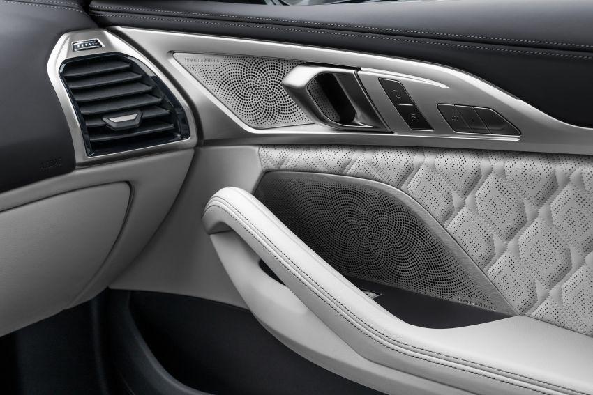 F93 BMW M8 Gran Coupé: four-door coupé with 625 hp Image #1028037