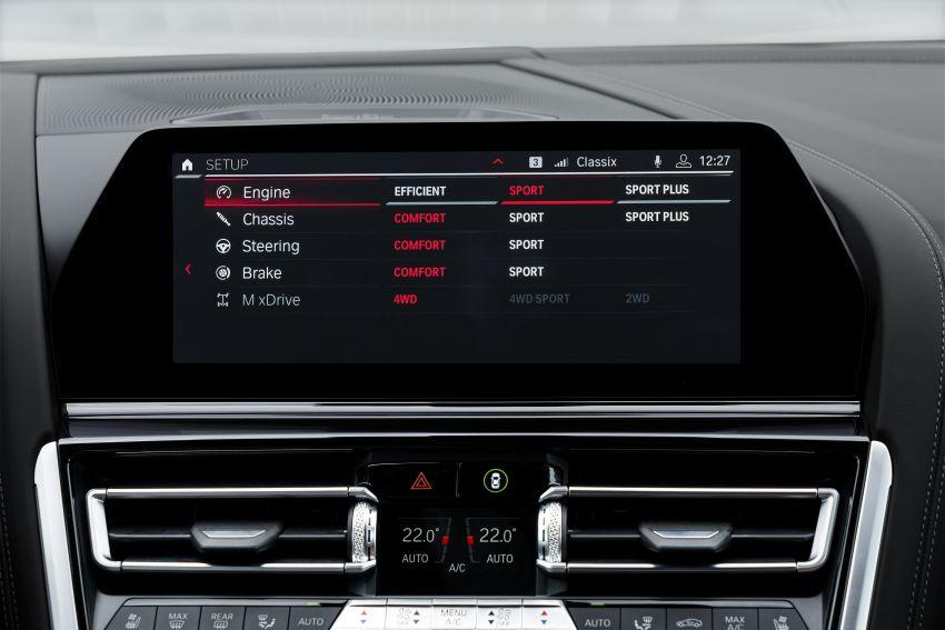 F93 BMW M8 Gran Coupé: four-door coupé with 625 hp Image #1028045