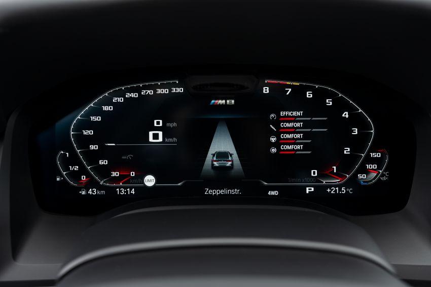 F93 BMW M8 Gran Coupé: four-door coupé with 625 hp Image #1028050
