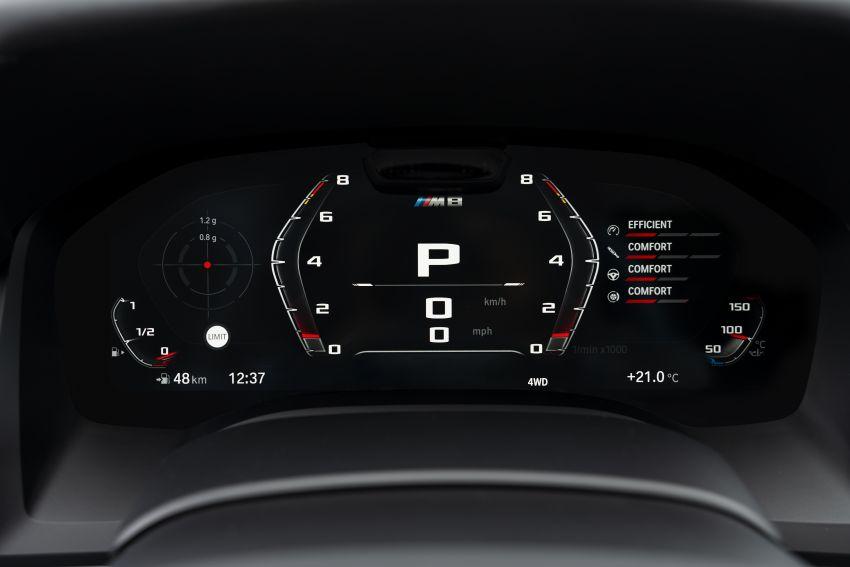 F93 BMW M8 Gran Coupé: four-door coupé with 625 hp Image #1028051