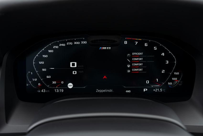 F93 BMW M8 Gran Coupé: four-door coupé with 625 hp Image #1028054