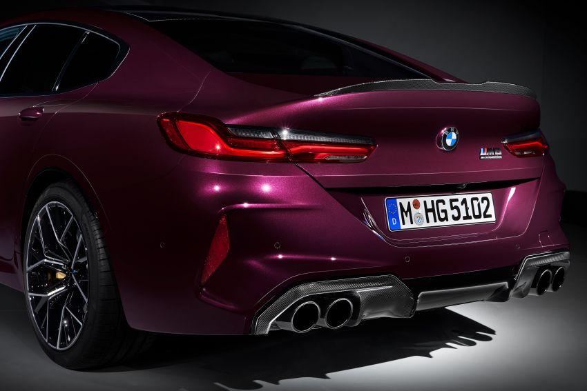 F93 BMW M8 Gran Coupé: four-door coupé with 625 hp Image #1027865