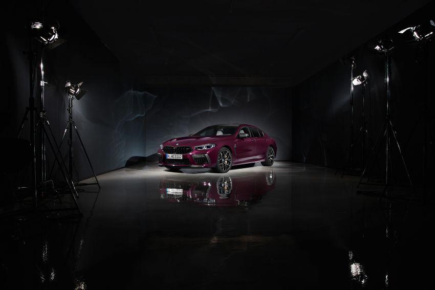 F93 BMW M8 Gran Coupé: four-door coupé with 625 hp Image #1027779