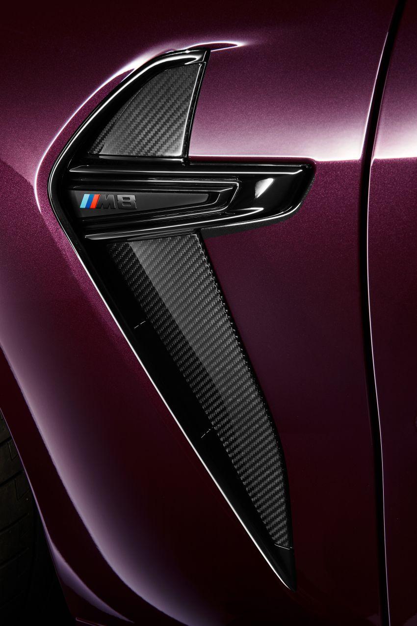F93 BMW M8 Gran Coupé: four-door coupé with 625 hp Image #1027873