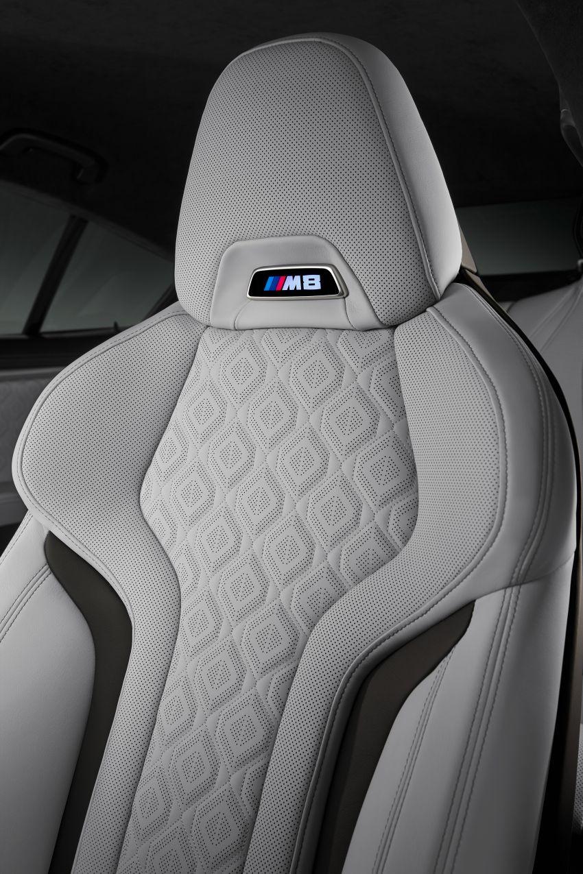F93 BMW M8 Gran Coupé: four-door coupé with 625 hp Image #1027878