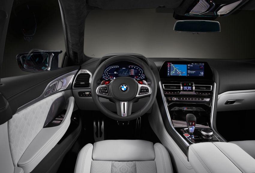F93 BMW M8 Gran Coupé: four-door coupé with 625 hp Image #1027881