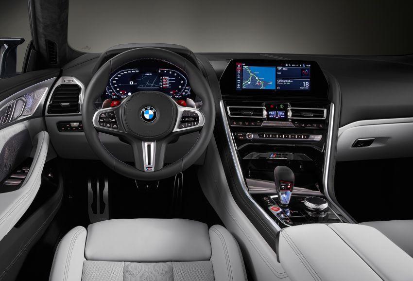 F93 BMW M8 Gran Coupé: four-door coupé with 625 hp Image #1027882