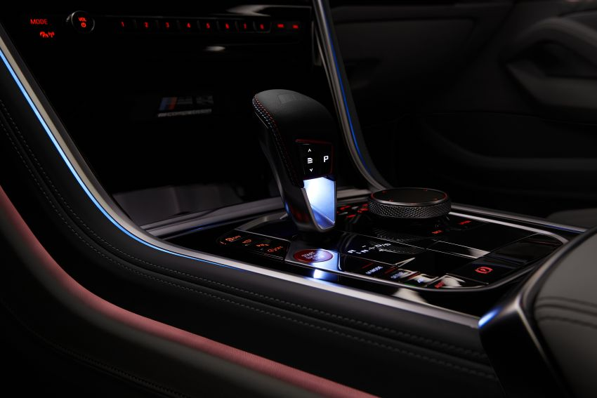 F93 BMW M8 Gran Coupé: four-door coupé with 625 hp Image #1027886