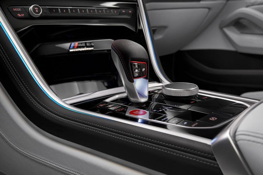 F93 BMW M8 Gran Coupé: four-door coupé with 625 hp Image #1027887