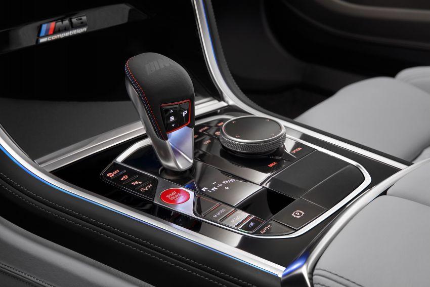 F93 BMW M8 Gran Coupé: four-door coupé with 625 hp Image #1027889