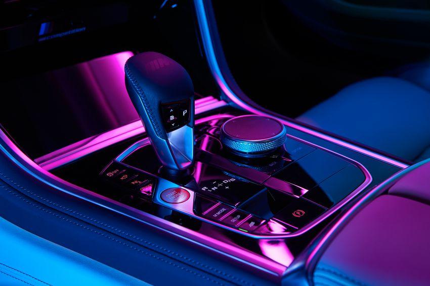F93 BMW M8 Gran Coupé: four-door coupé with 625 hp Image #1027890