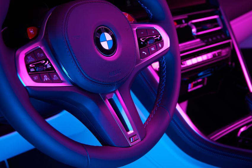 F93 BMW M8 Gran Coupé: four-door coupé with 625 hp Image #1027892