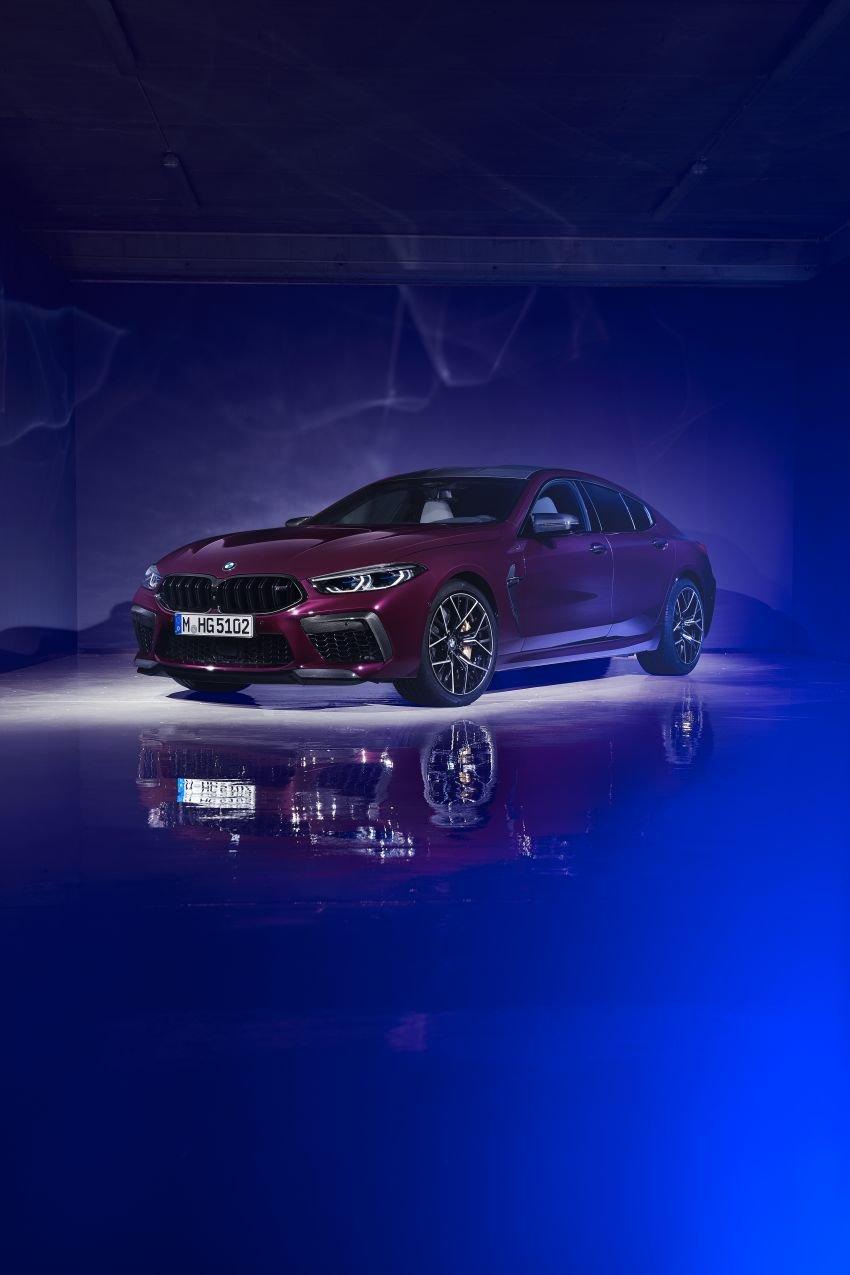 F93 BMW M8 Gran Coupé: four-door coupé with 625 hp Image #1027898