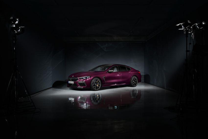 F93 BMW M8 Gran Coupé: four-door coupé with 625 hp Image #1027839