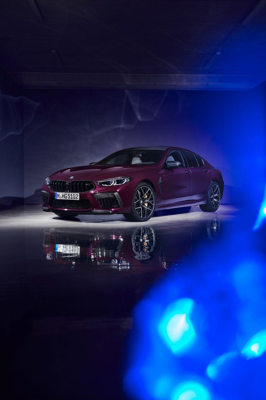 F93 BMW M8 Gran Coupé: four-door coupé with 625 hp Image #1027899