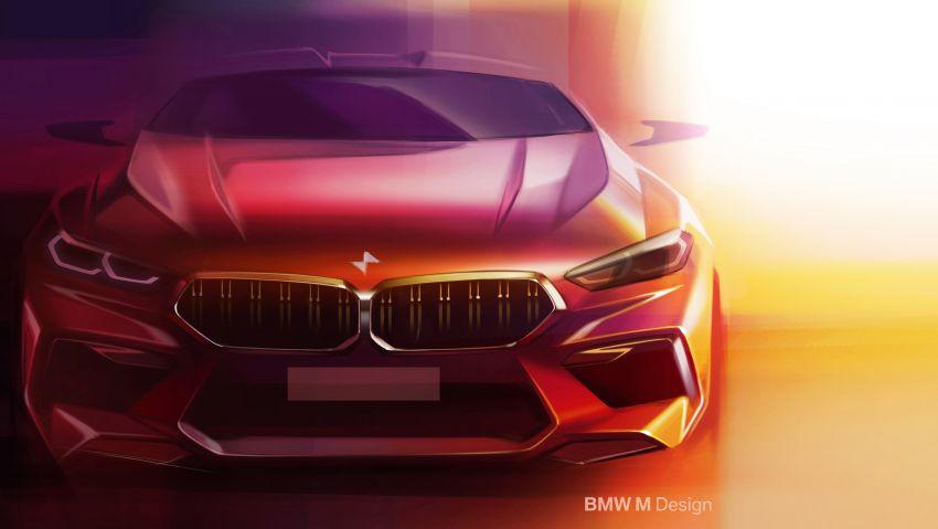 F93 BMW M8 Gran Coupé: four-door coupé with 625 hp Image #1027907