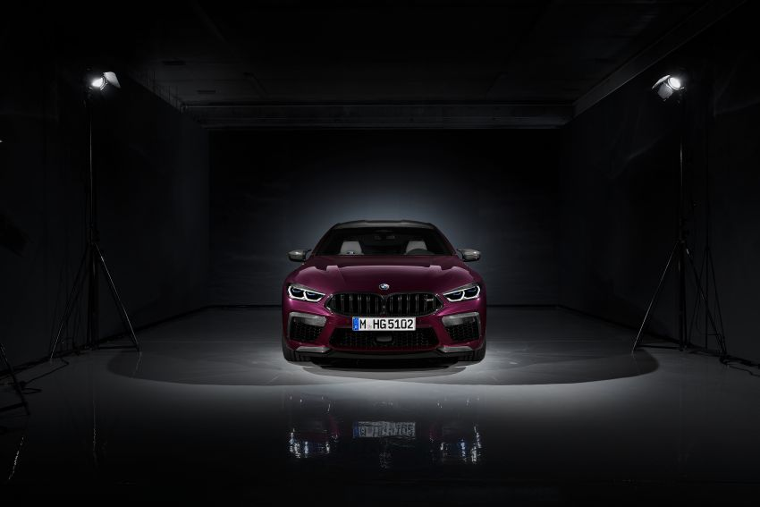F93 BMW M8 Gran Coupé: four-door coupé with 625 hp Image #1027841