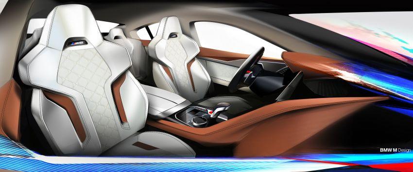 F93 BMW M8 Gran Coupé: four-door coupé with 625 hp Image #1027912