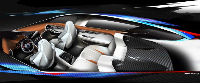 F93 BMW M8 Gran Coupé: four-door coupé with 625 hp Image #1027913