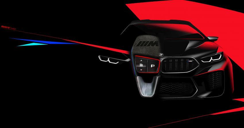 F93 BMW M8 Gran Coupé: four-door coupé with 625 hp Image #1027918