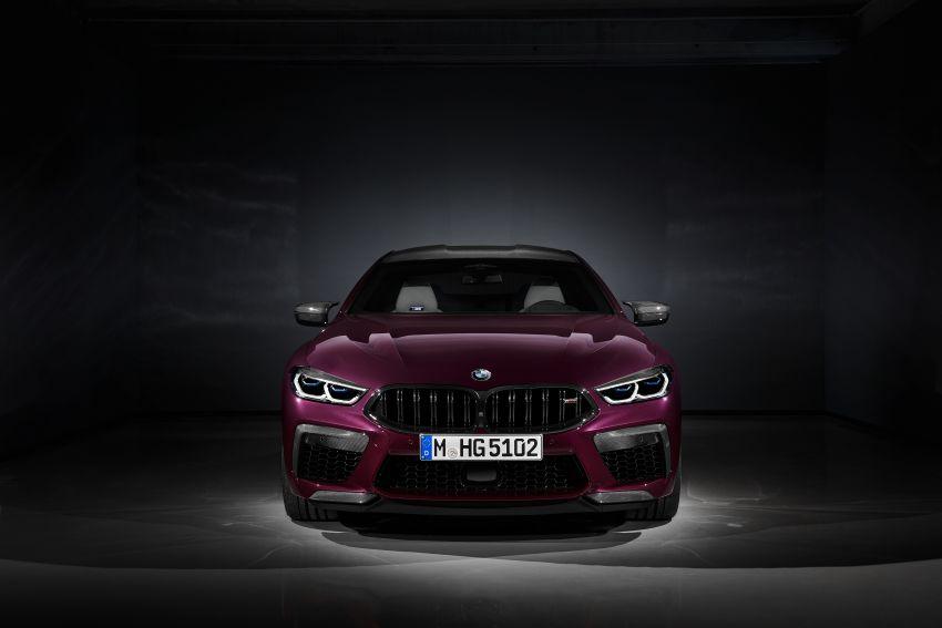 F93 BMW M8 Gran Coupé: four-door coupé with 625 hp Image #1027846