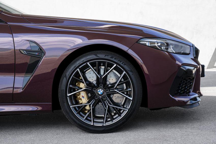 F93 BMW M8 Gran Coupé: four-door coupé with 625 hp Image #1027930