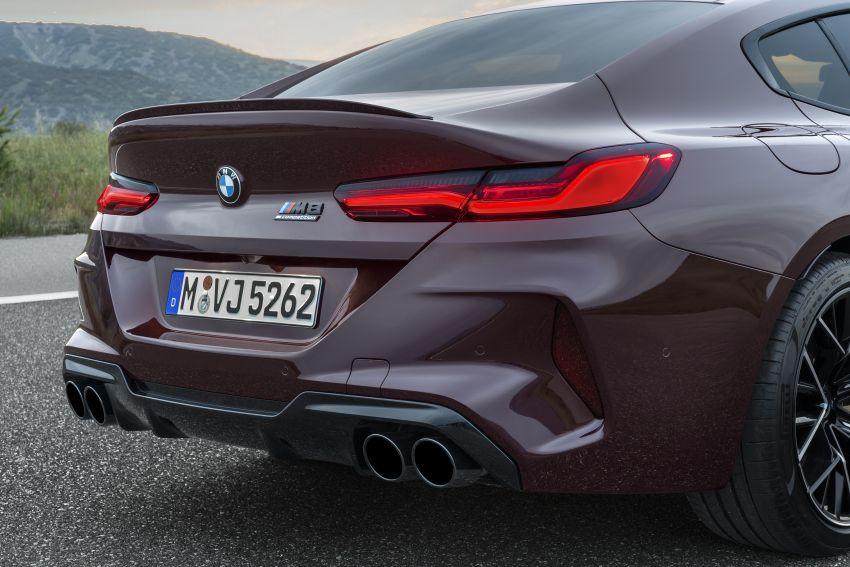 F93 BMW M8 Gran Coupé: four-door coupé with 625 hp Image #1027932