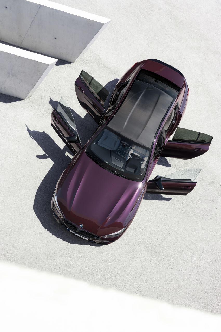 F93 BMW M8 Gran Coupé: four-door coupé with 625 hp Image #1027933