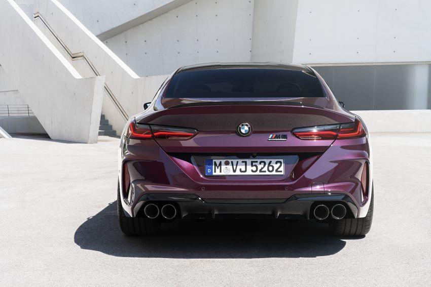 F93 BMW M8 Gran Coupé: four-door coupé with 625 hp Image #1027934