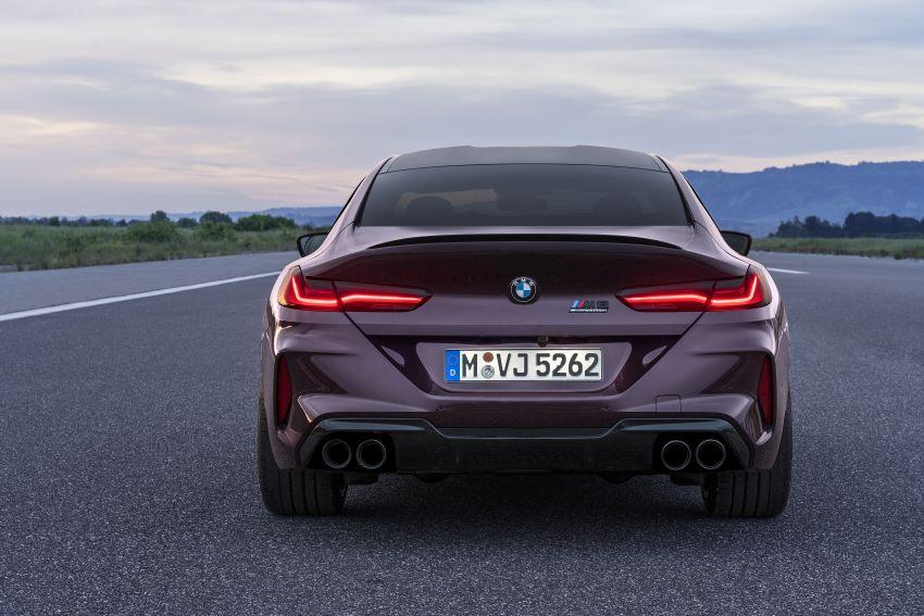 F93 BMW M8 Gran Coupé: four-door coupé with 625 hp Image #1027936