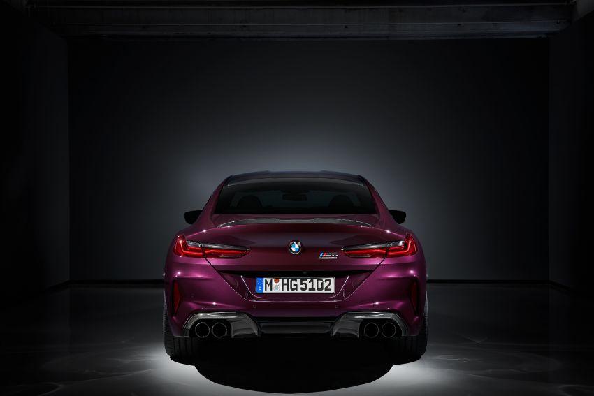 F93 BMW M8 Gran Coupé: four-door coupé with 625 hp Image #1027848