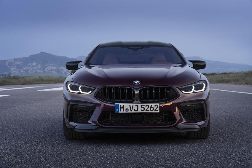 F93 BMW M8 Gran Coupé: four-door coupé with 625 hp Image #1027937