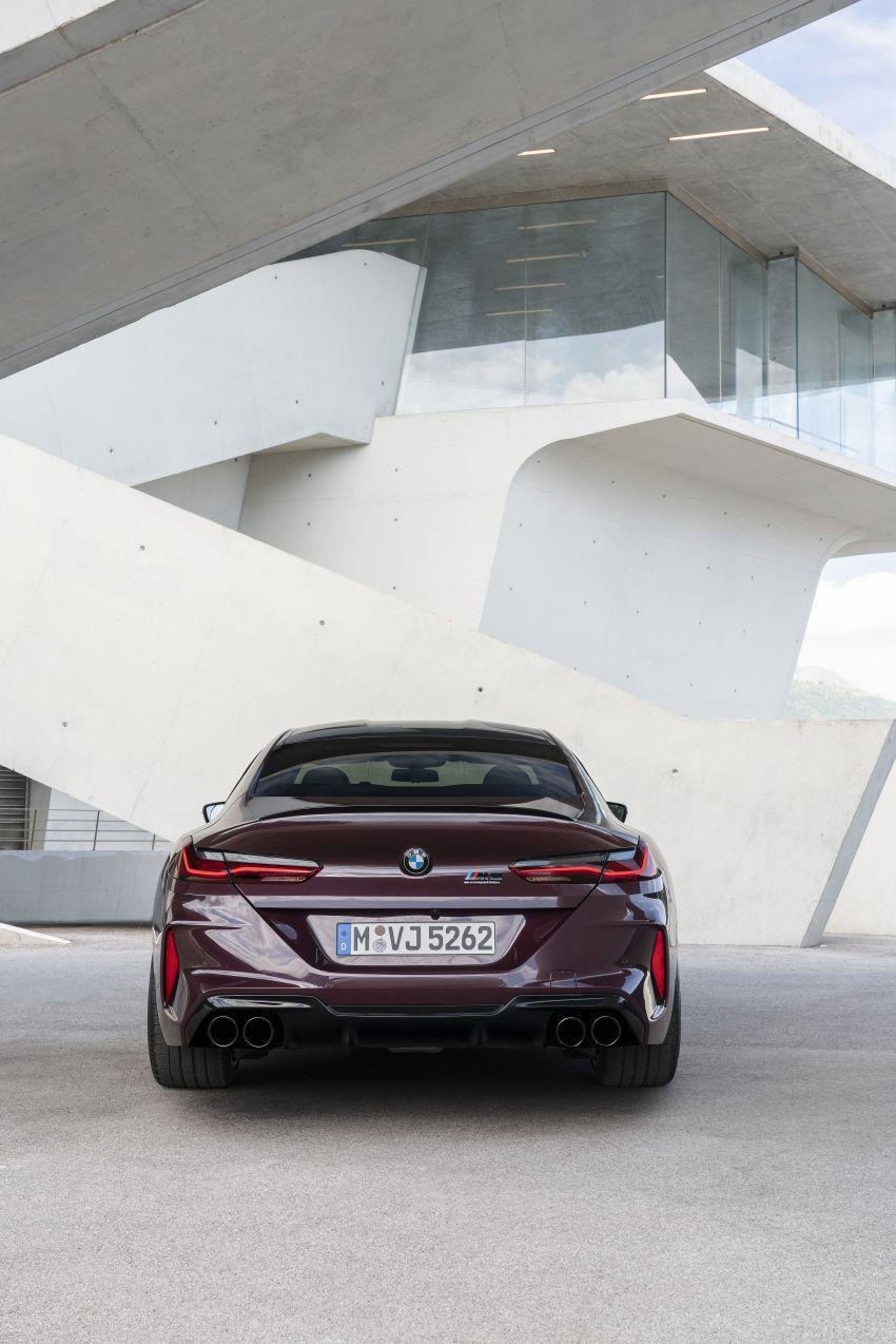 F93 BMW M8 Gran Coupé: four-door coupé with 625 hp Image #1027940