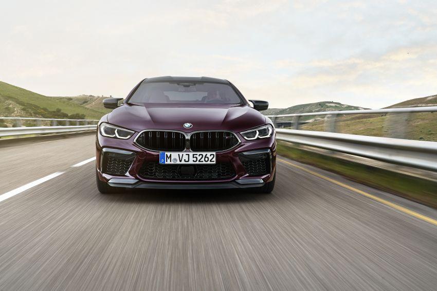F93 BMW M8 Gran Coupé: four-door coupé with 625 hp Image #1027947
