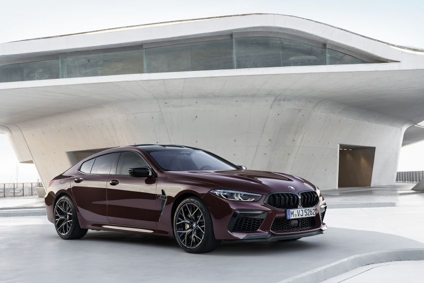 F93 BMW M8 Gran Coupé: four-door coupé with 625 hp Image #1027948