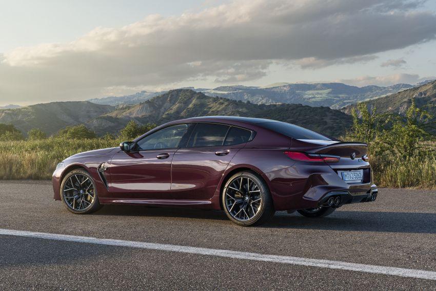 F93 BMW M8 Gran Coupé: four-door coupé with 625 hp Image #1027950