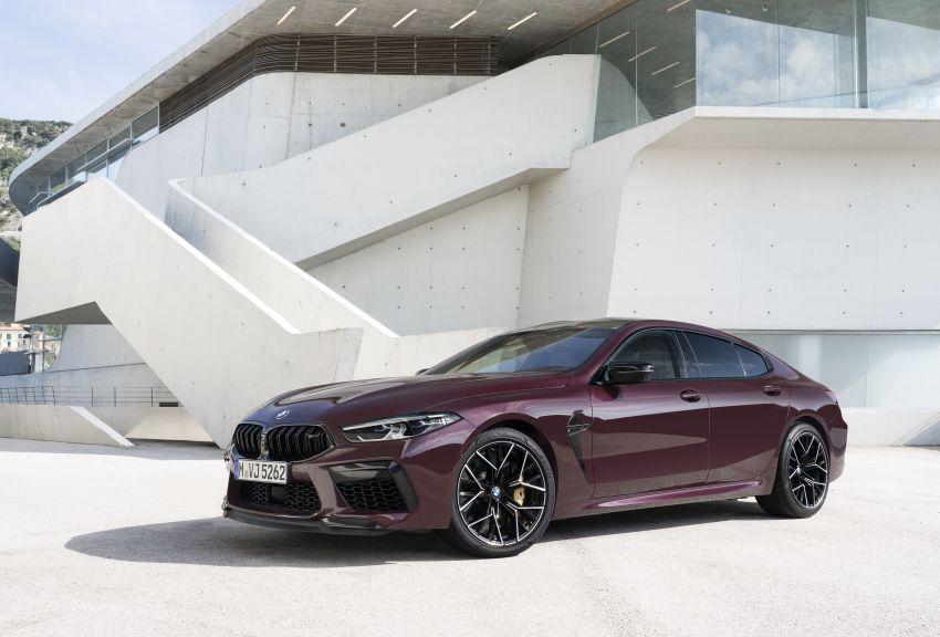 F93 BMW M8 Gran Coupé: four-door coupé with 625 hp Image #1027954