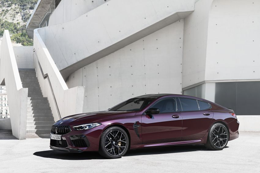F93 BMW M8 Gran Coupé: four-door coupé with 625 hp Image #1027956