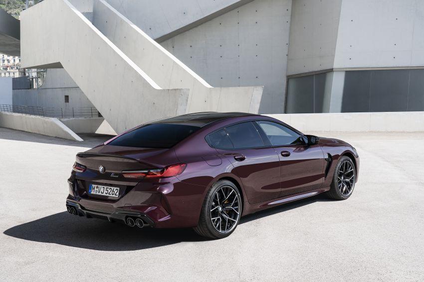F93 BMW M8 Gran Coupé: four-door coupé with 625 hp Image #1028059