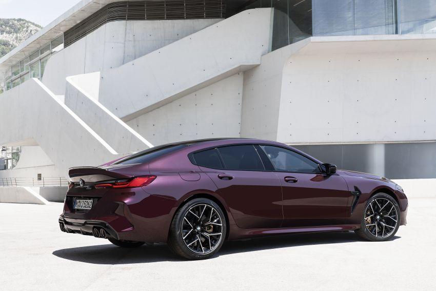 F93 BMW M8 Gran Coupé: four-door coupé with 625 hp Image #1027959