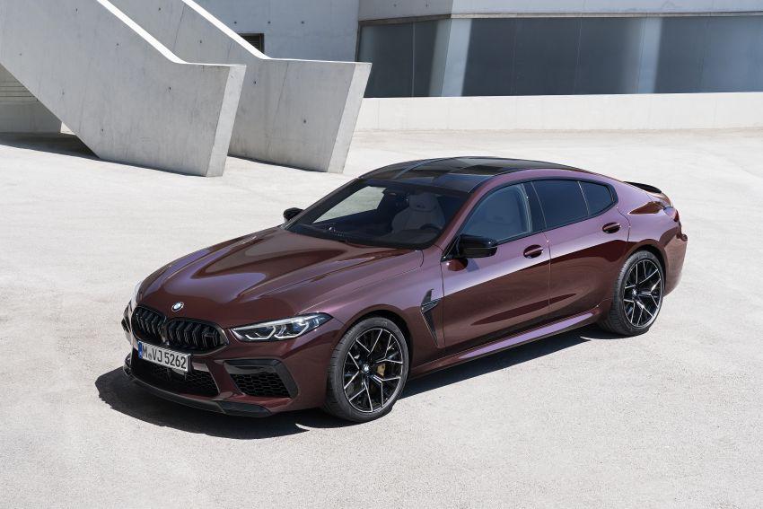 F93 BMW M8 Gran Coupé: four-door coupé with 625 hp Image #1027962