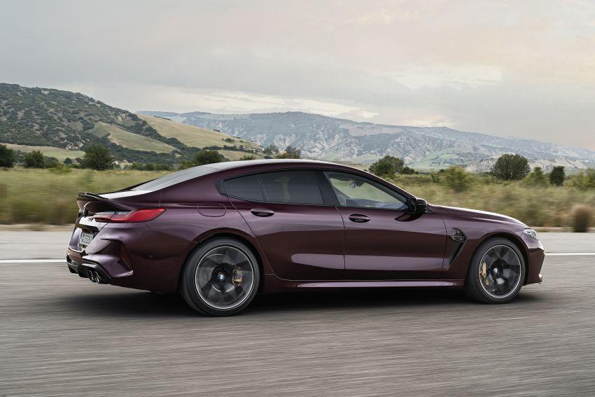 F93 BMW M8 Gran Coupé: four-door coupé with 625 hp Image #1027966