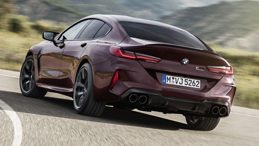 F93 BMW M8 Gran Coupé: four-door coupé with 625 hp Image #1027977