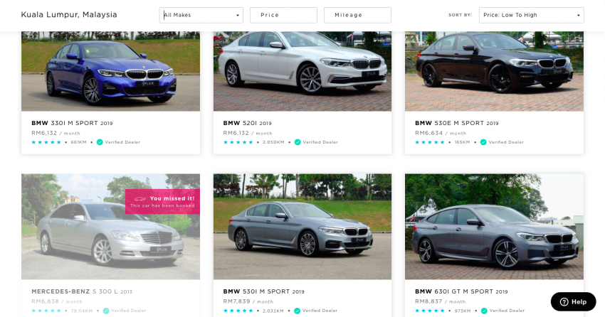 Flux car subscription service launched in Malaysia – multi-brand, Kia to BMW, from RM814 per month Image #1028709