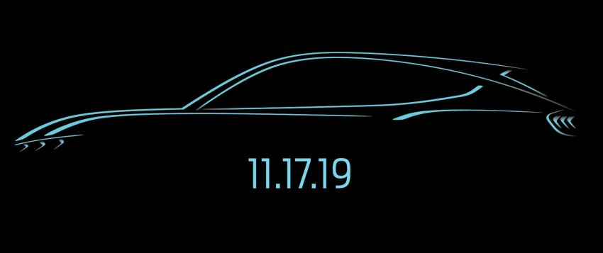 Ford's Mustang-inspired electric SUV debuts Nov 17 Image #1035567