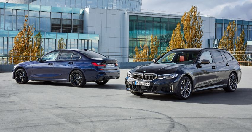 GALLERY: G21 BMW M340i xDrive Touring and G20 M340i xDrive Sedan – 369 hp, 0-100 km/h from 4.4s Image #1034878